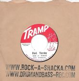 Black Thursday - Don D Jnr / Beautiful Brown Eyes - Earl Bros. (Tramp / Rock A Shacka) JPN 7""